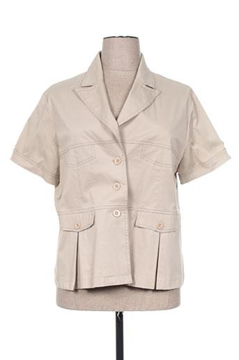 griffon vestes femme de couleur beige