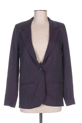reiko vestes femme de couleur violet