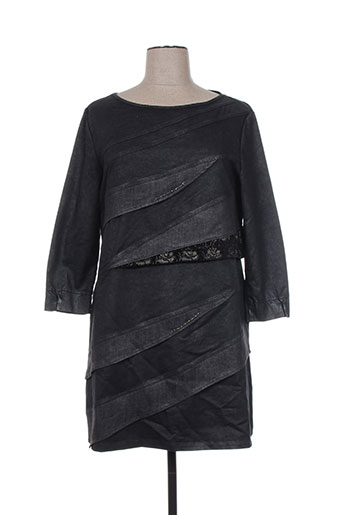 daniela dallavalle robes femme de couleur noir