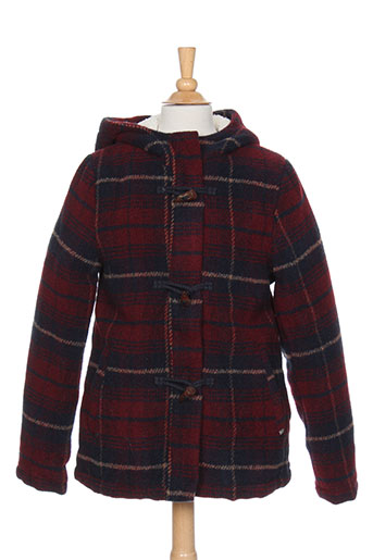 tiffosi manteaux garçon de couleur rouge