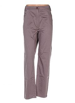 Pantalon casual gris EPICEA pour femme