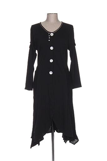 batistame robes femme de couleur noir