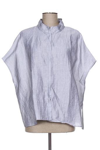 elemente clemente chemises femme de couleur gris