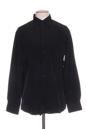 bande originale chemises homme de couleur noir