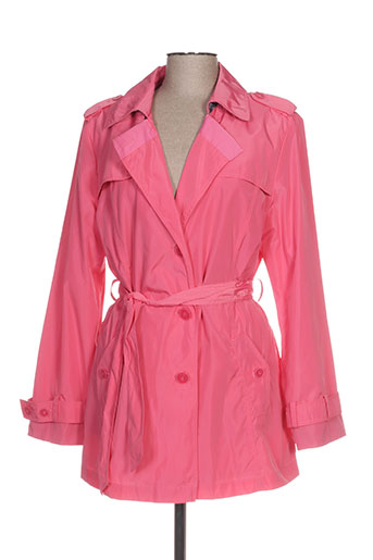 Imperméable/Trench rose GELCO pour femme
