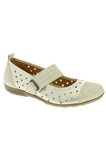aco chaussures femme de couleur beige