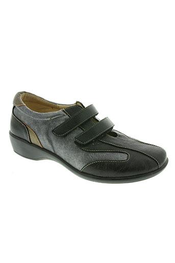 gf confort chaussures femme de couleur noir