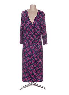 Robe longue bleu HATLEY pour femme