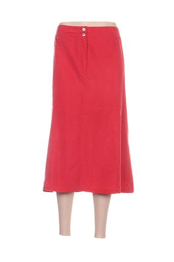 jean gabriel jupes femme de couleur rouge