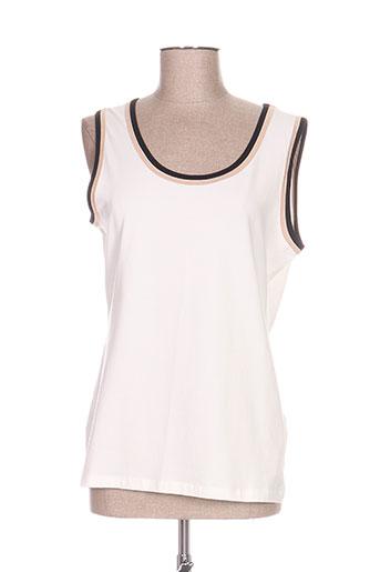 basler t-shirts femme de couleur beige