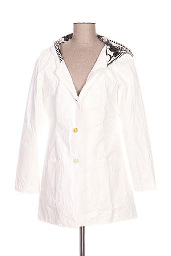 lo! les filles vestes femme de couleur blanc