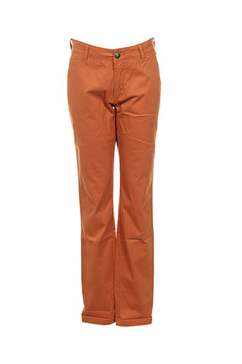 teddy smith pantalons garçon de couleur orange