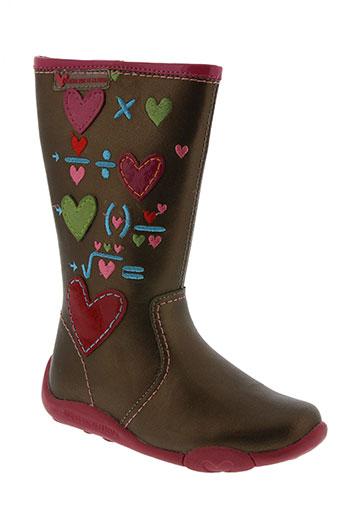 agatha ruiz de la prada chaussures fille de couleur marron