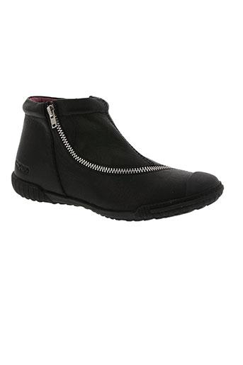 mod8 chaussures fille de couleur noir