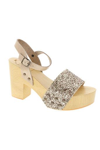 antidoti chaussures femme de couleur beige
