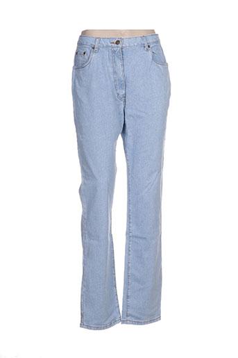 ottawa jeans femme de couleur bleu