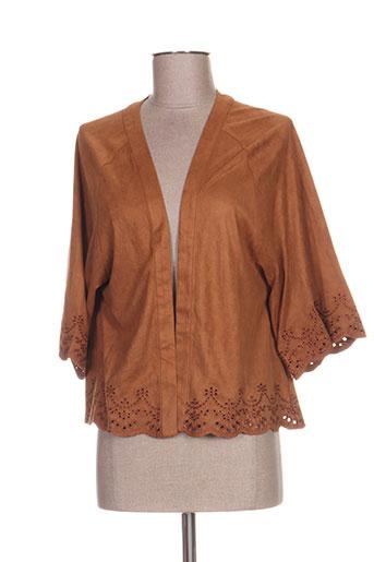 resoul vestes femme de couleur marron