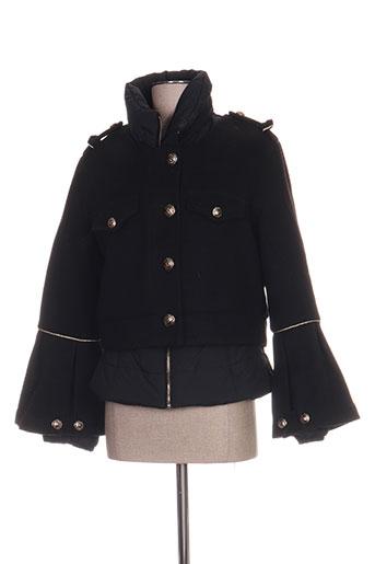 eureka manteaux femme de couleur noir