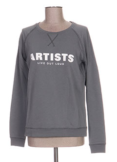 Sweat-shirt gris ARTISTS pour femme