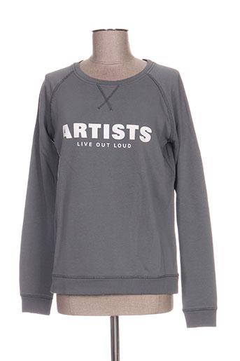 Sweat-shirt gris ARTISTS pour femme