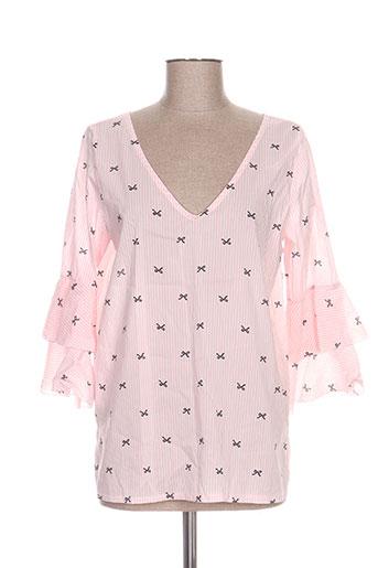 new collection chemises femme de couleur rose