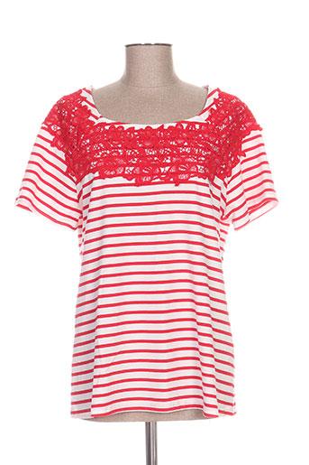 my collection t-shirts femme de couleur rouge