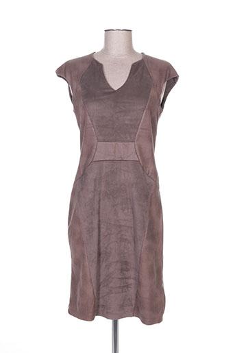 romeo pour juliette robes femme de couleur marron