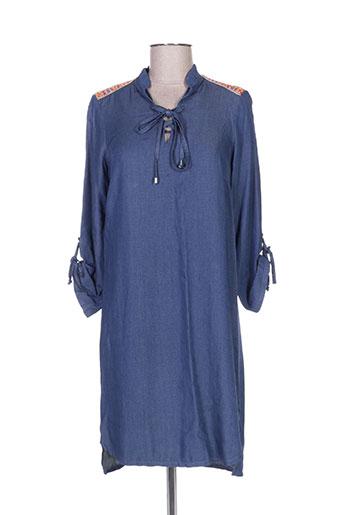 fille a suivre robes femme de couleur bleu