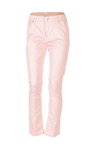 my christy pantalons femme de couleur orange
