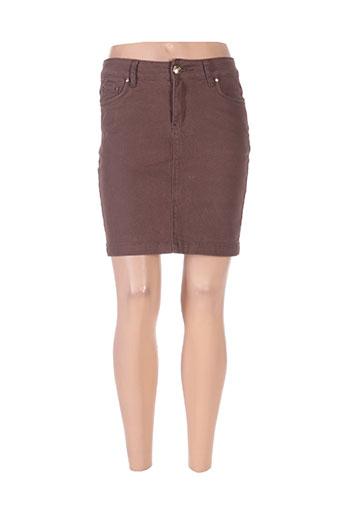 onado jupes femme de couleur marron