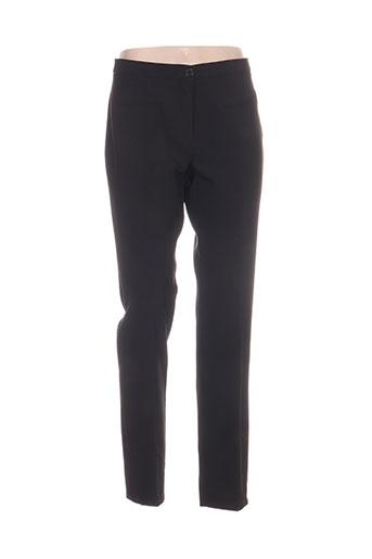 hippocampe pantalons femme de couleur noir