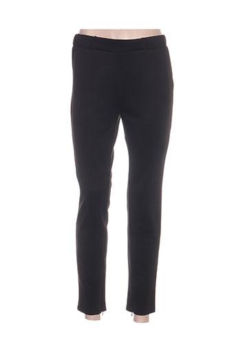 my collection pantalons femme de couleur noir