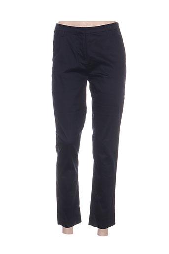 my collection pantalons femme de couleur bleu