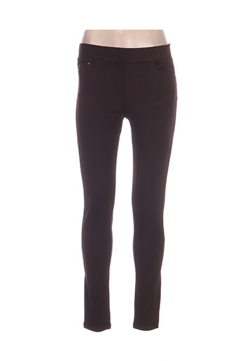 my christy pantalons femme de couleur marron