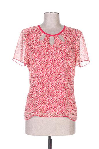 jean delfin chemises femme de couleur rose