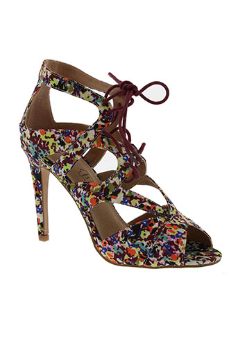 vanessa wu chaussures femme de couleur violet