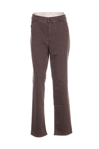 gardeur jeans femme de couleur marron
