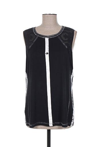 sportalm t-shirts femme de couleur noir