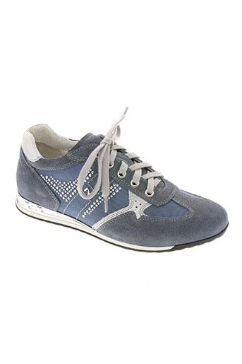 nero giardini chaussures femme de couleur bleu