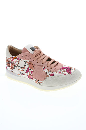 twin set chaussures femme de couleur rose