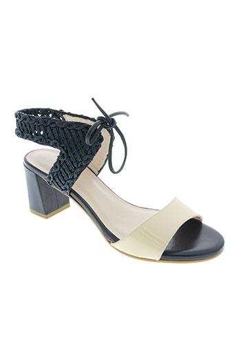 lodi chaussures femme de couleur bleu