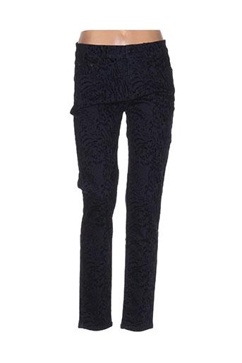 limited edition pantalons femme de couleur bleu
