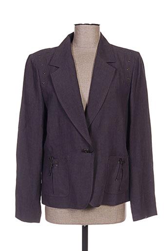 weill vestes femme de couleur violet