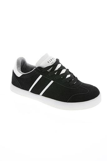 tiffosi chaussures garçon de couleur noir