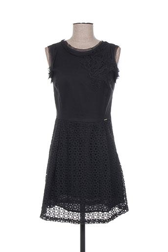 fracomina robes femme de couleur noir