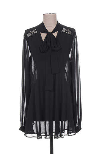 fracomina chemises femme de couleur noir