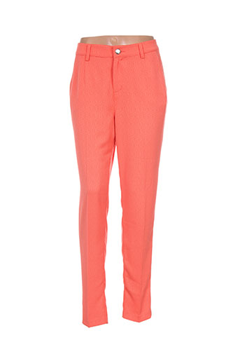 guess pantalons femme de couleur orange