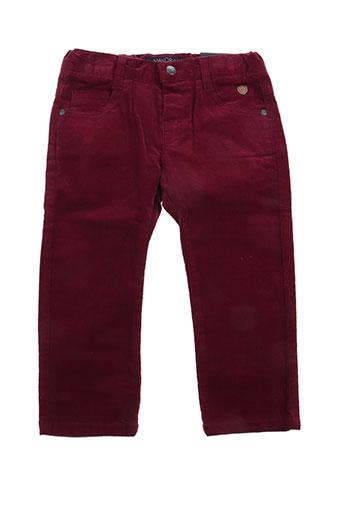 mayoral pantalons garçon de couleur rouge