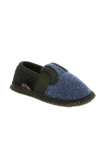 gottstein chaussures garçon de couleur bleu