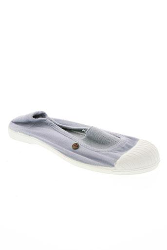 buggy chaussures fille de couleur bleu